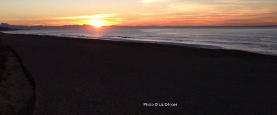 Sunset Ocean Beach Anglet 2013