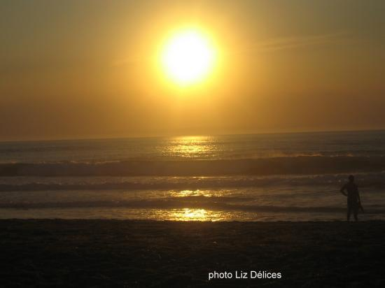 Sunset Anglet